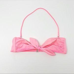 Victorias Secret Pink Bandeau Bikini Top